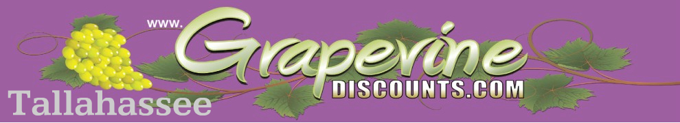 Grapevine Discounts in Tallahassee, Florida